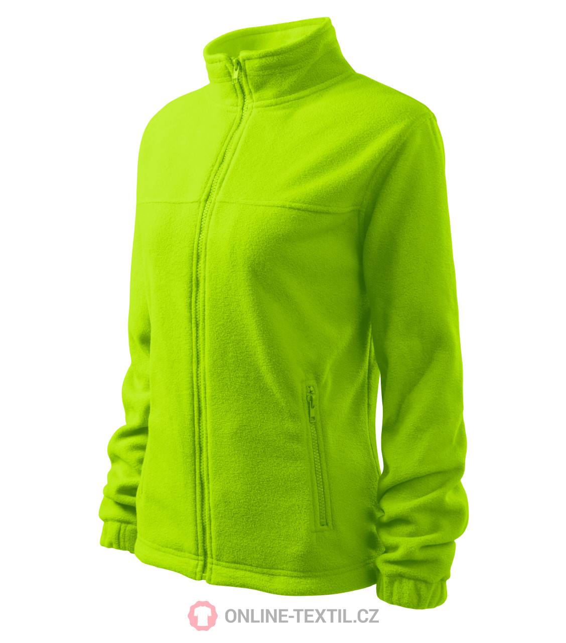 8425d156a6e0 ADLER CZECH Dámska fleece bunda mikina Fleece Jacket 504 - limetková ...