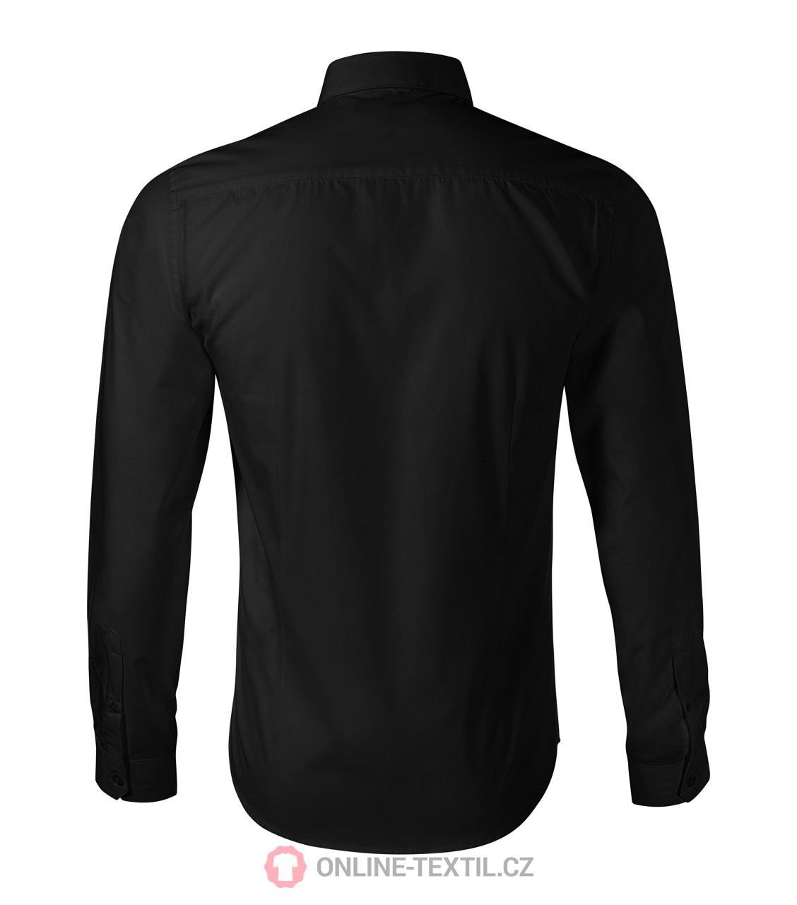 ff6646330787 ADLER CZECH Pánska košeľa Malfini Premium Dynamic 262 - čierna z ...