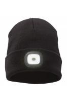 Pletená čiapka Mighty s LED čelovkou
