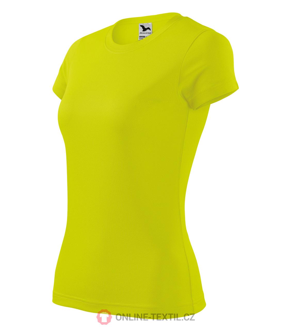 9cb69430662c1 ADLER CZECH Dámske športové tričko Fantasy 140 - neon yellow z ...