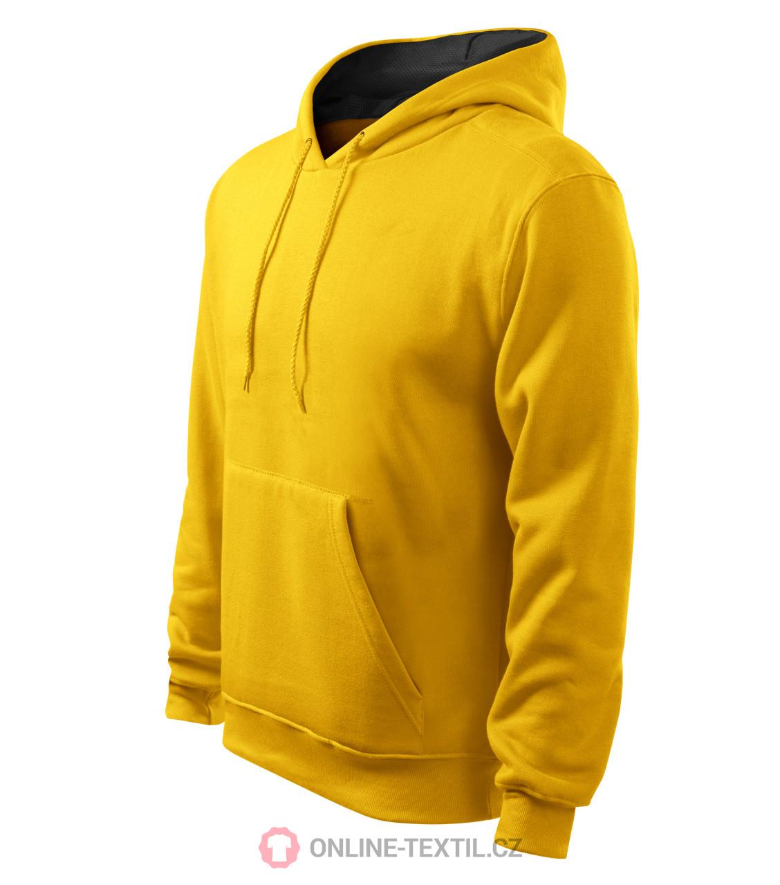 7f7bbc76aa5f ADLER CZECH Mikina pánska Hooded Sweater s kapucňou 405 - žltá z ...