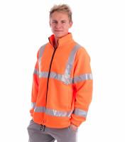 Reflexná fleecová bunda/mikina HV Fleece Jacket Rimeck