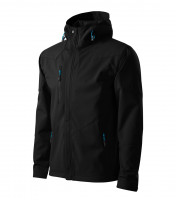 Ľahká pánska softshellová bunda Nano s kapucňou a úpravou NANOtex®