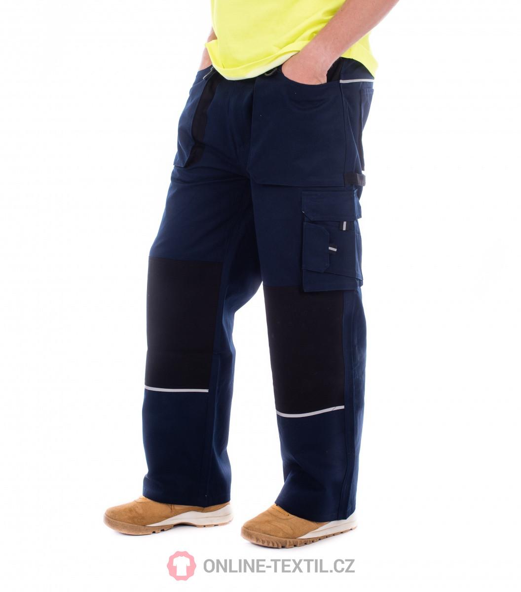 ef752d3c5c5f ADLER CZECH Woody pracovné nohavice pánske Rimeck W01 - tmavomodrá z ...