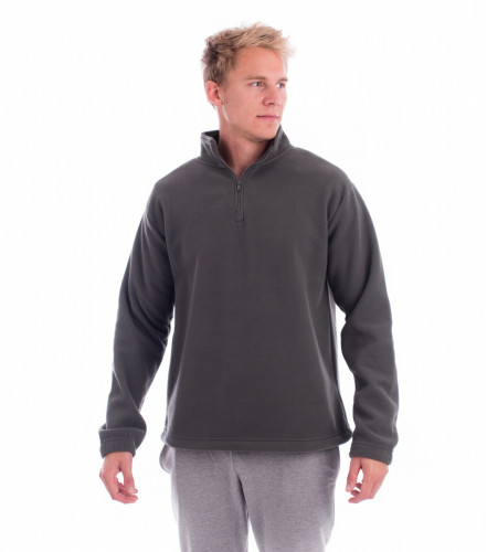 Pánska fleece bunda/mikina Horizon s krátkym zipsom