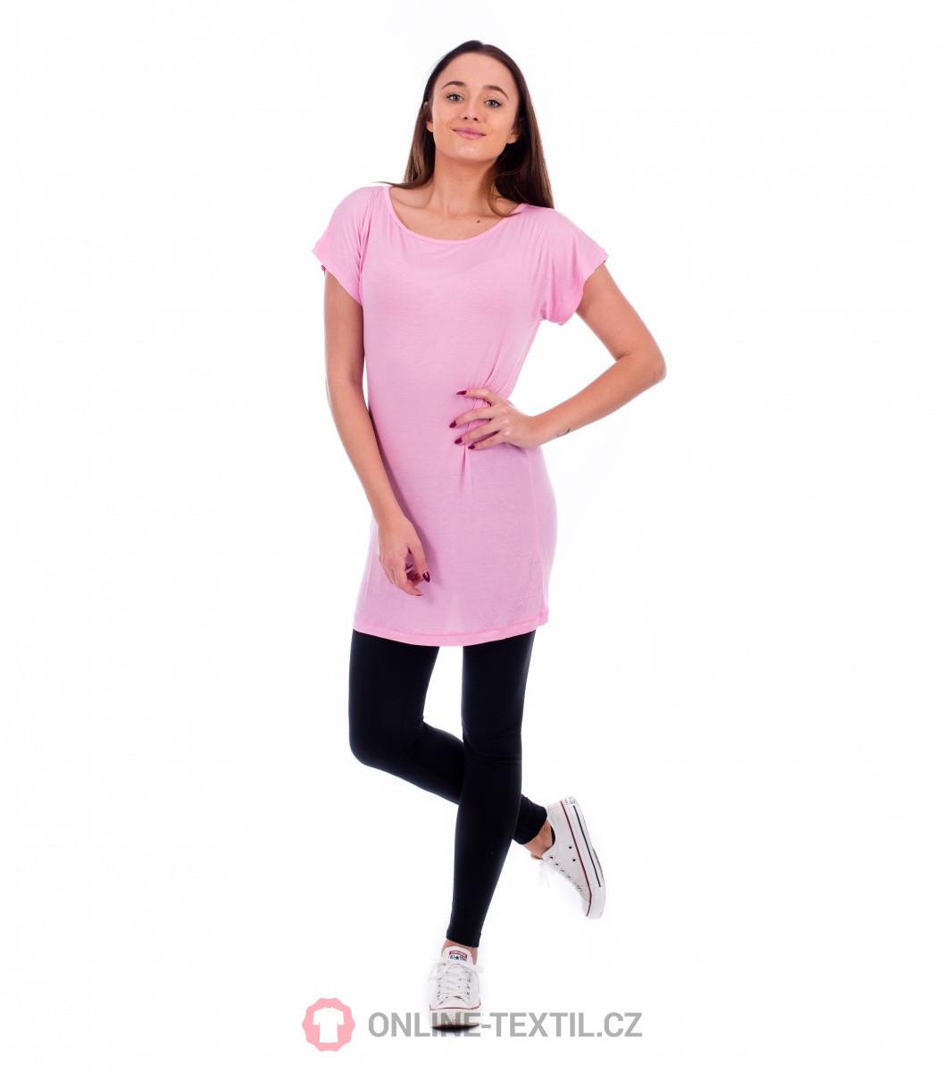 2d932b51590c ADLER CZECH Love tričko šaty dámske 123 - ružová z kolekcie MALFINI ...