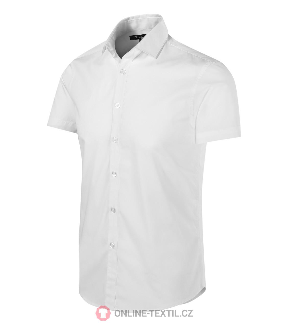 23f7fac04b87 ADLER CZECH Pánska košeľa Malfini Premium Flash 260 - biela z ...