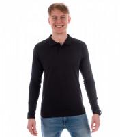 Pánska bavlnená polokošeľa Single J. LS s dlhým rukávom