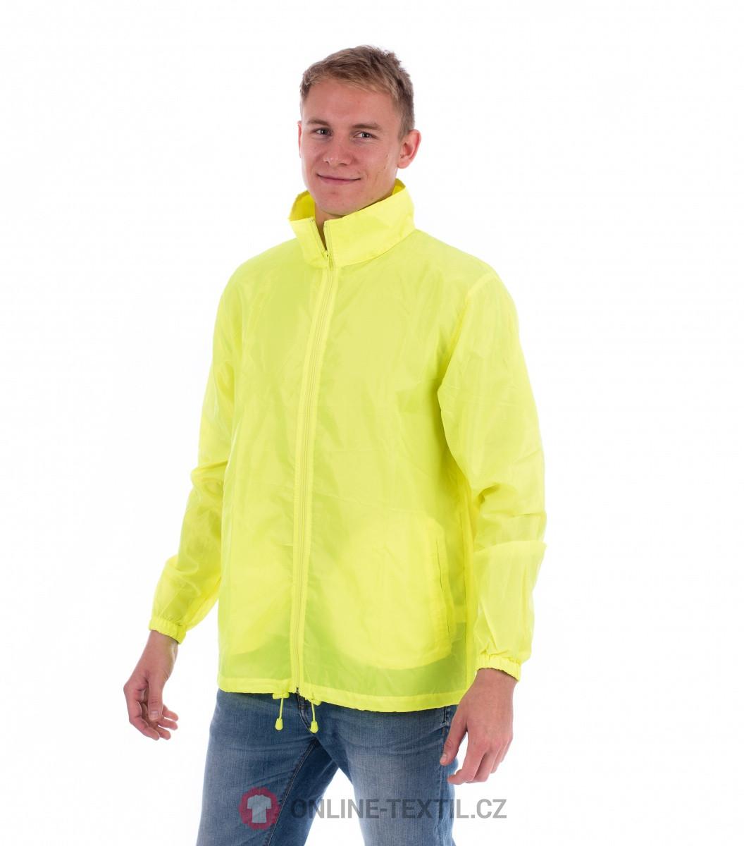 ADLER CZECH Unisex Vetrovka Windy 524 - neon yellow z kolekcie ... 5c07ea8a308