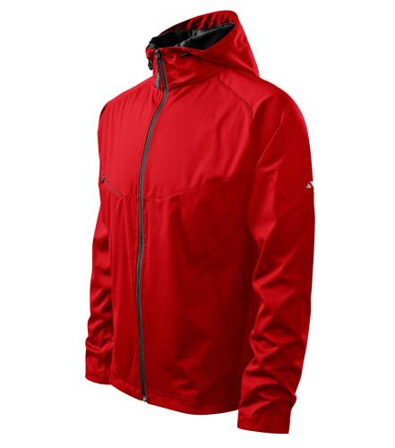 Ľahká pánska softshellová bunda Cool s reflexnými prvky