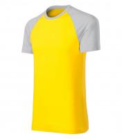 Dvojfarebné tričko Duo unisex VÝPREDAJ