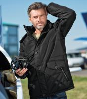 Pánska zateplená bunda Nordic s odnímateľnou kapucňou