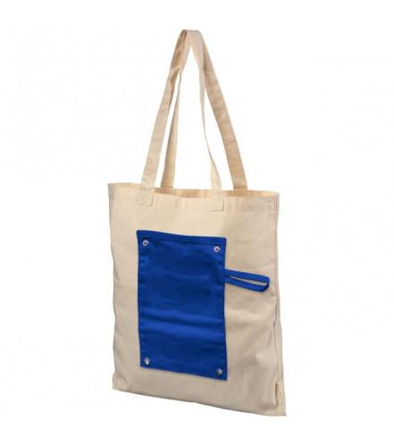 Zrolovateľná bavlnená taška Snap