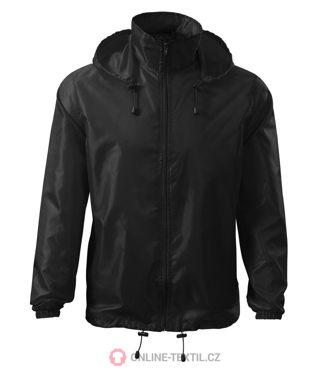ADLER CZECH Unisex Vetrovka Windy 524 - čierna z kolekcie MALFINI ... 9f531bd0856