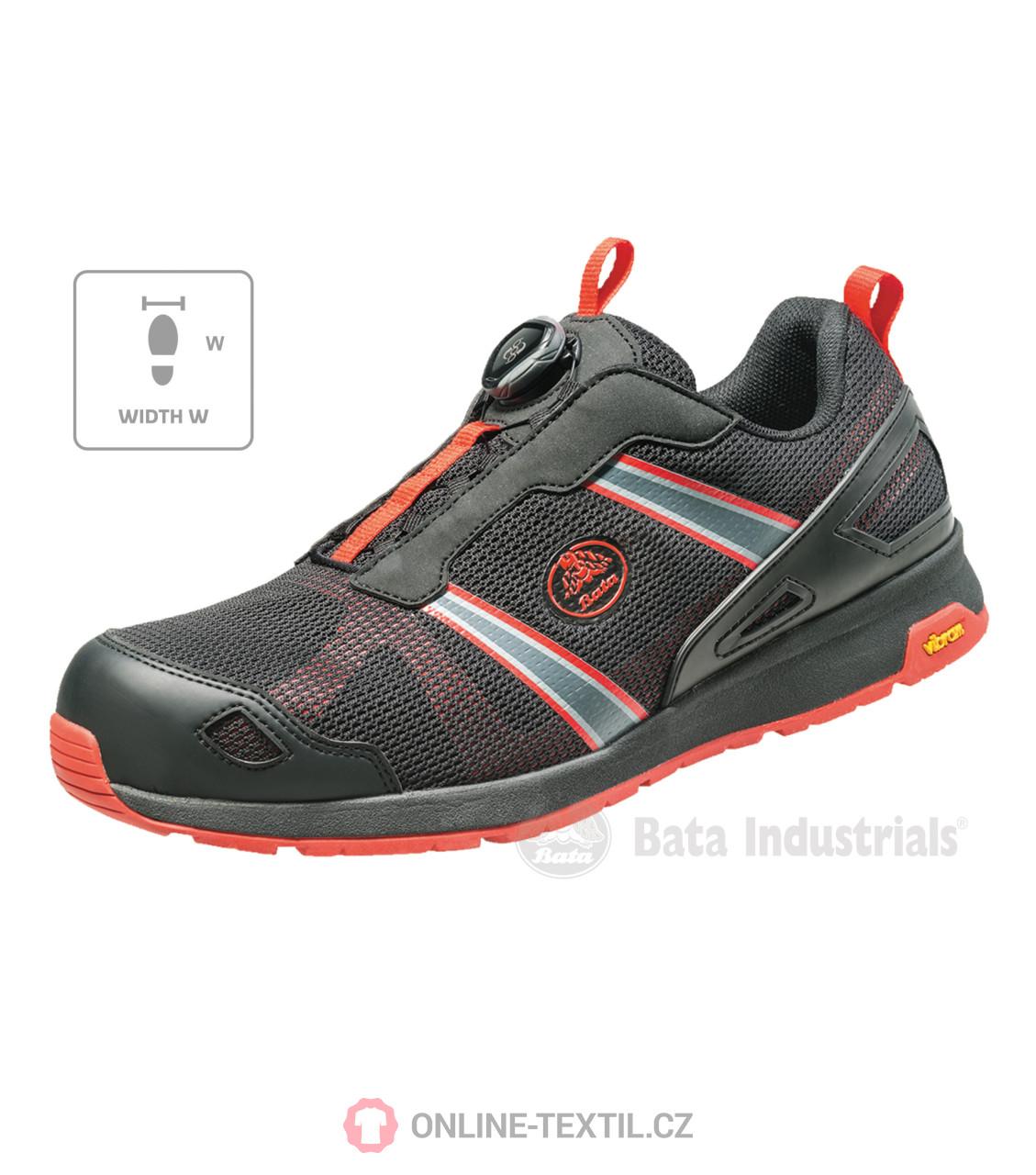 ac9c50f9b0bd Bata Industrials Bezpečnostná obuv S1P Bata Industrials B51 - čierna ...