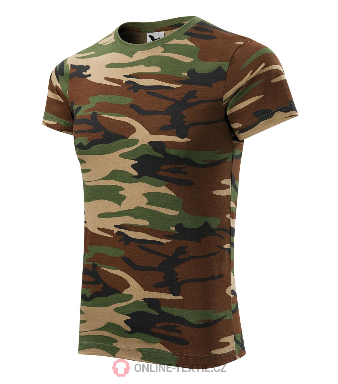 4588a5b2b ADLER CZECH Army tričko Camouflage 144 - camouflage brown z kolekcie ...