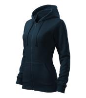 Dámska mikina Trendy Zipper s kapucňou