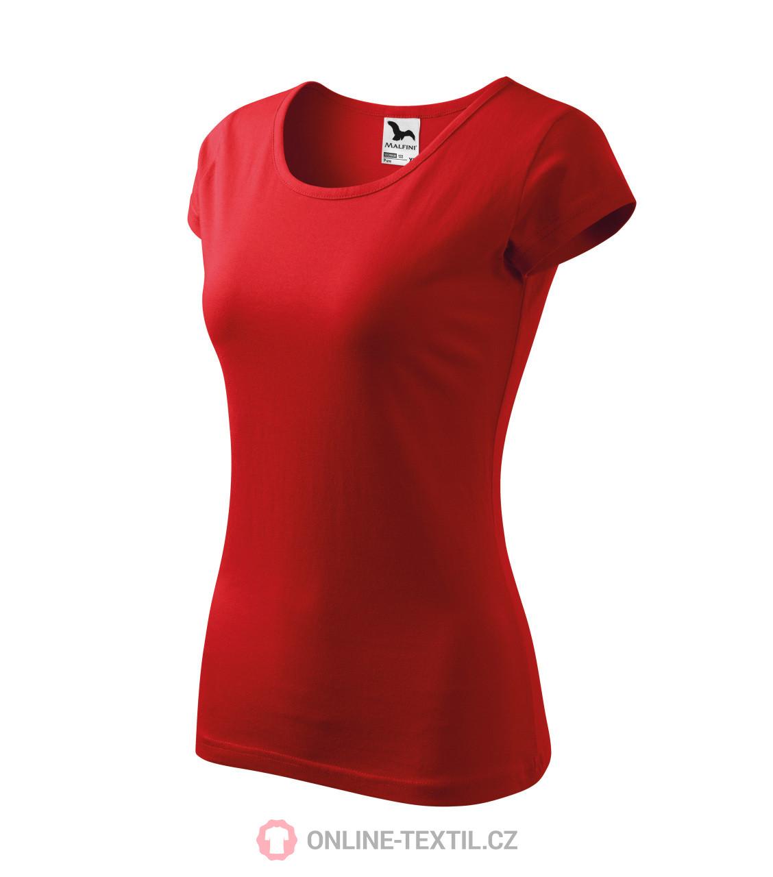 4fb74cfbc3cb7 ADLER CZECH Tričká dámske Pure 122 - červená z kolekcie MALFINI ...