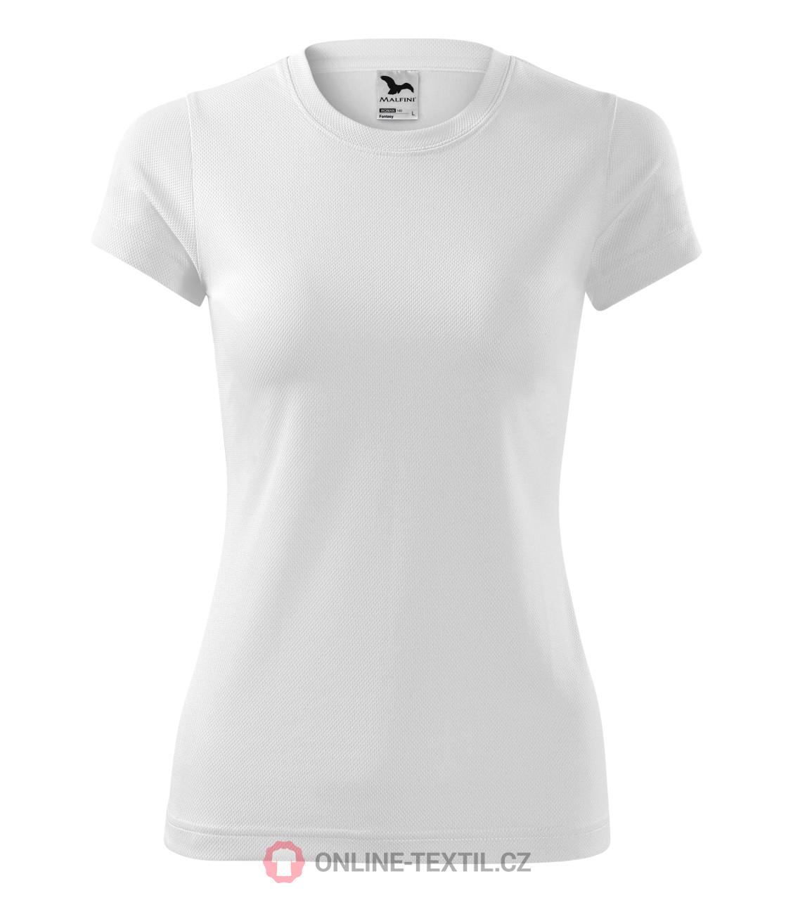 ca17a0dfab88a ADLER CZECH Dámske športové tričko Fantasy 140 - biela z kolekcie ...