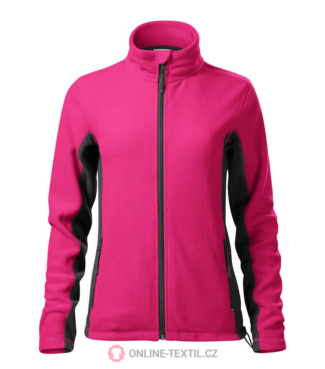 9e12b76bfc5d ADLER CZECH Dámska fleece bunda mikina Frosty 528 - purpurová z ...
