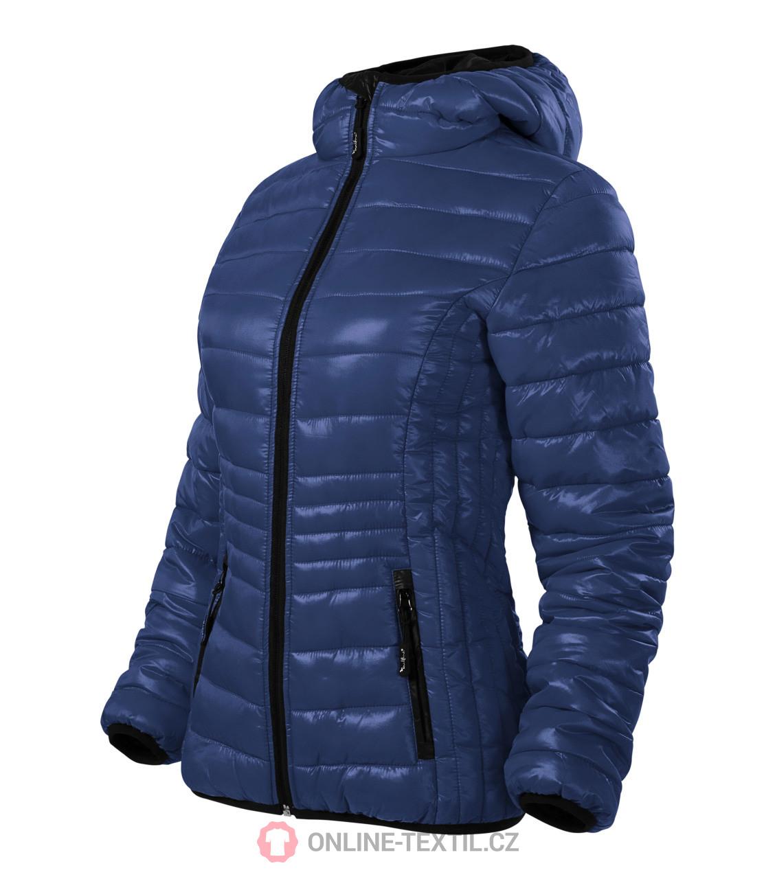 eed417020 ADLER CZECH Prémiová dámska prešívaná bunda Everest 551 - tmavomodrá ...