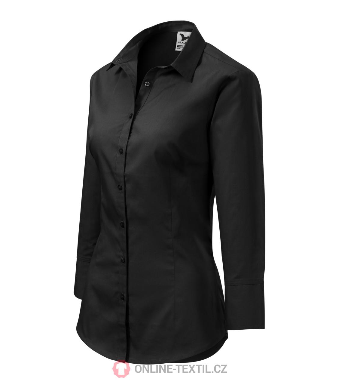 1cf51ca2f4ce ADLER CZECH Blúzka dámska Style s 3 4 rukávom 218 - čierna z ...