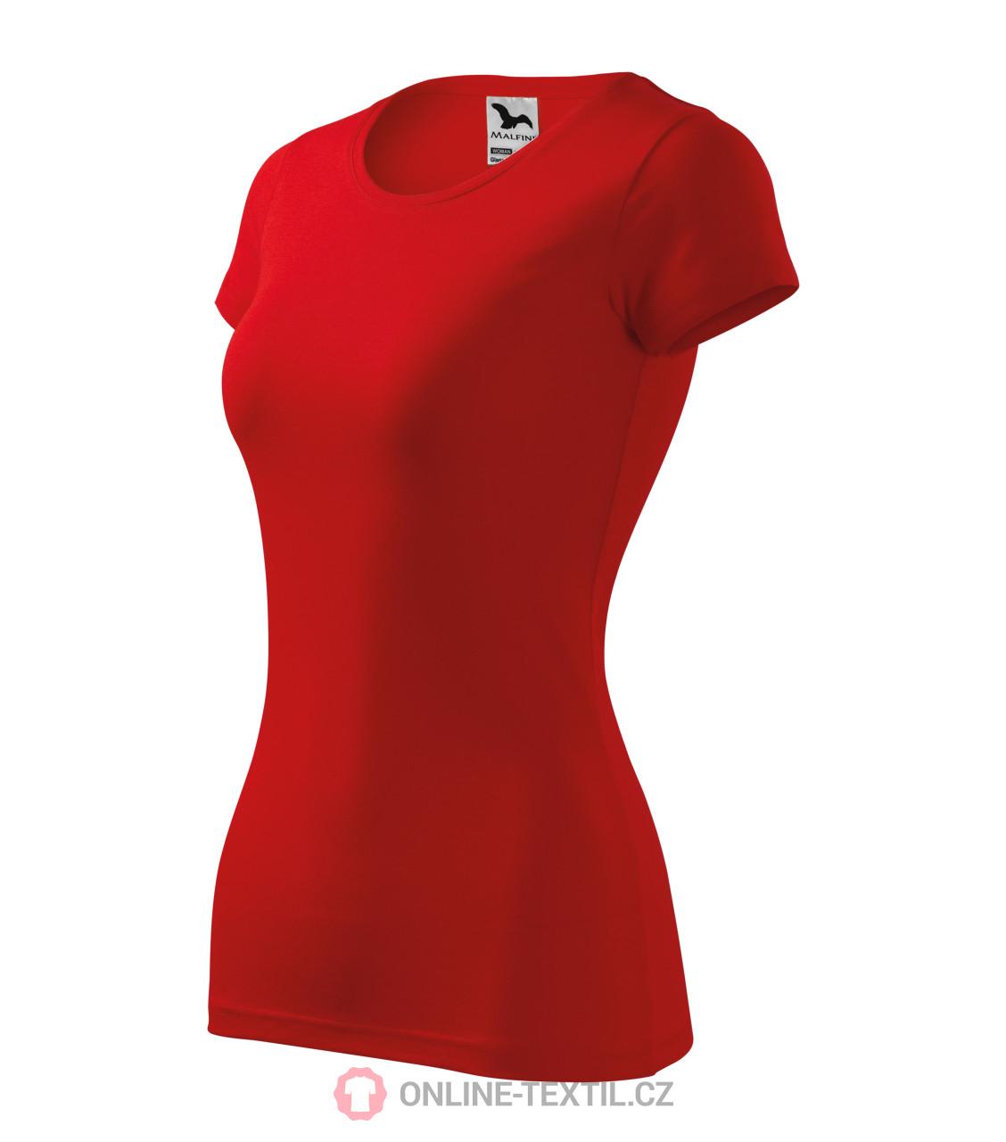 2e394c819 ADLER CZECH Tričko dámske Glance vyššej gramáže 141 - červená z ...