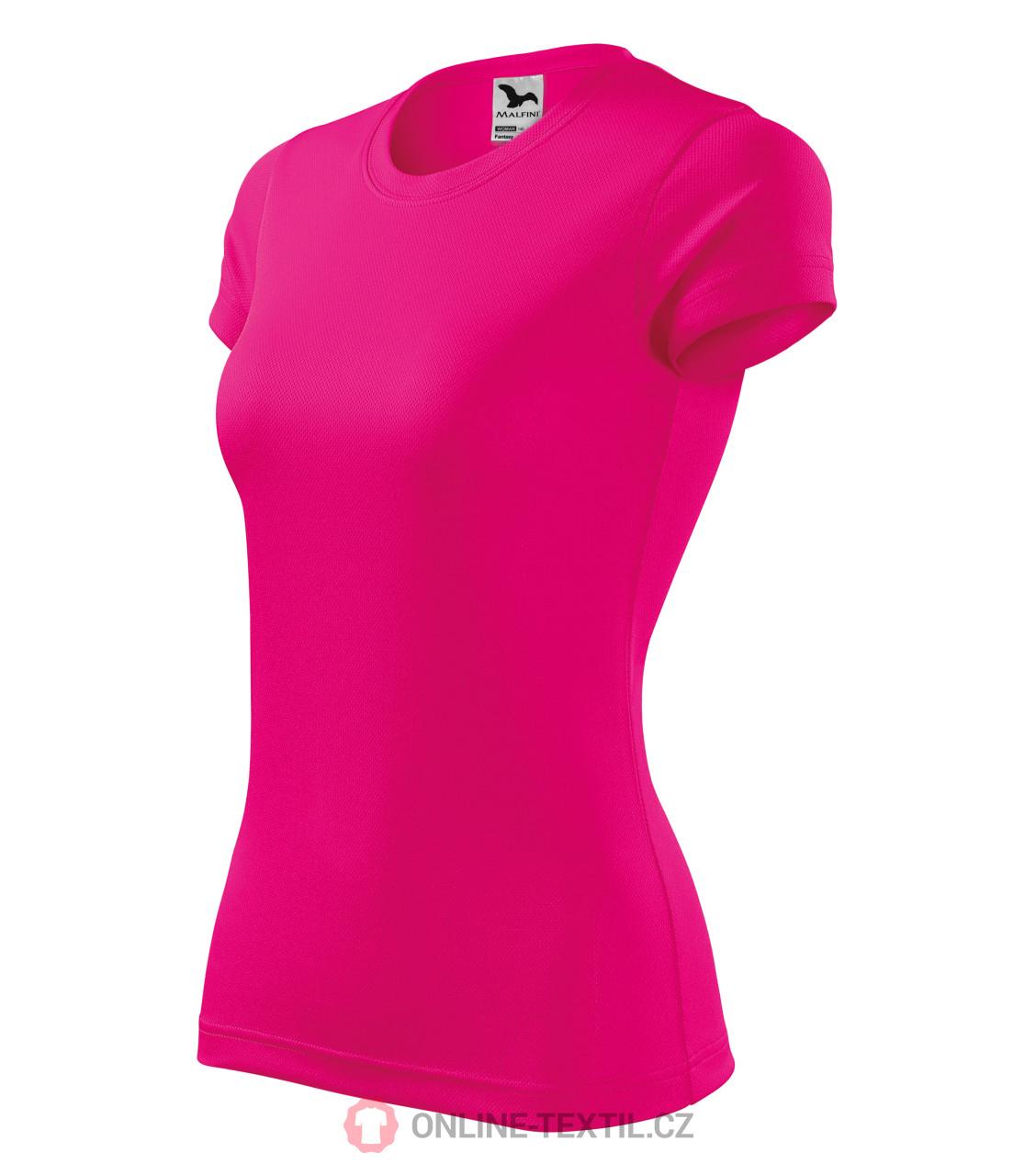 b7dc1d1451e3f ADLER CZECH Dámske športové tričko Fantasy 140 - neon ružová z ...