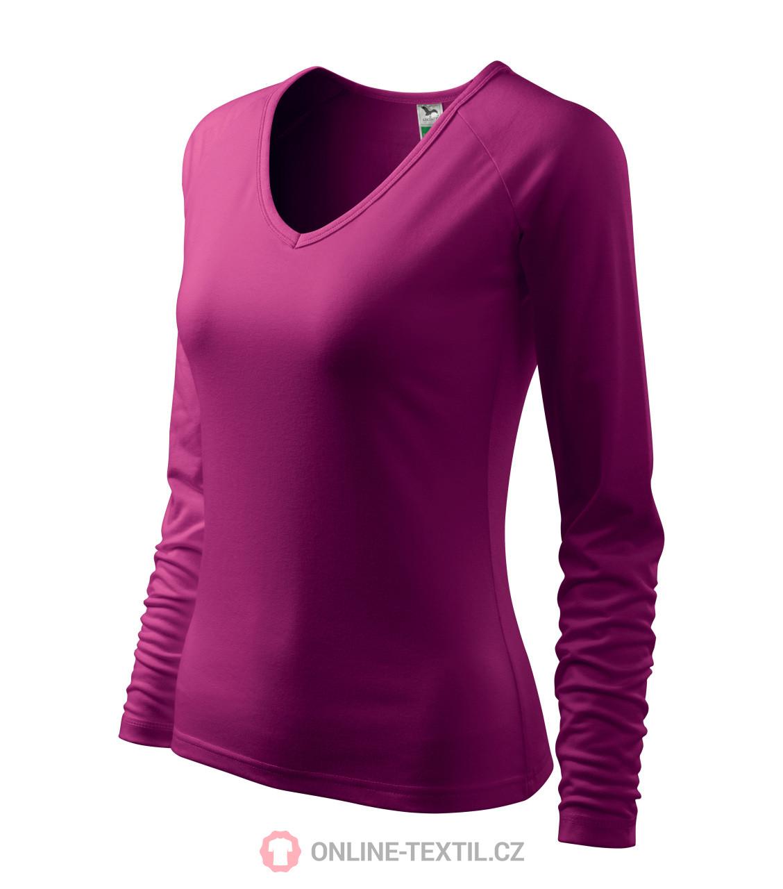 4212b2428 ADLER CZECH Elegance tričko dámske A27 - fuchsiová z kolekcie ...