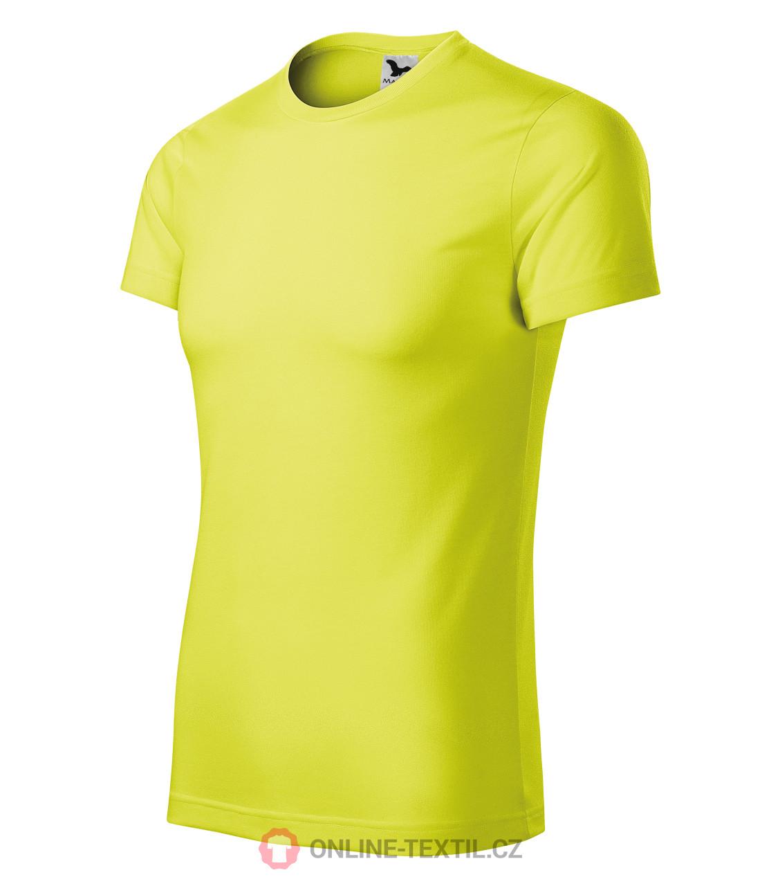 08f885b23 ADLER CZECH Športové tričko Star unisex 165 - neon yellow z kolekcie ...