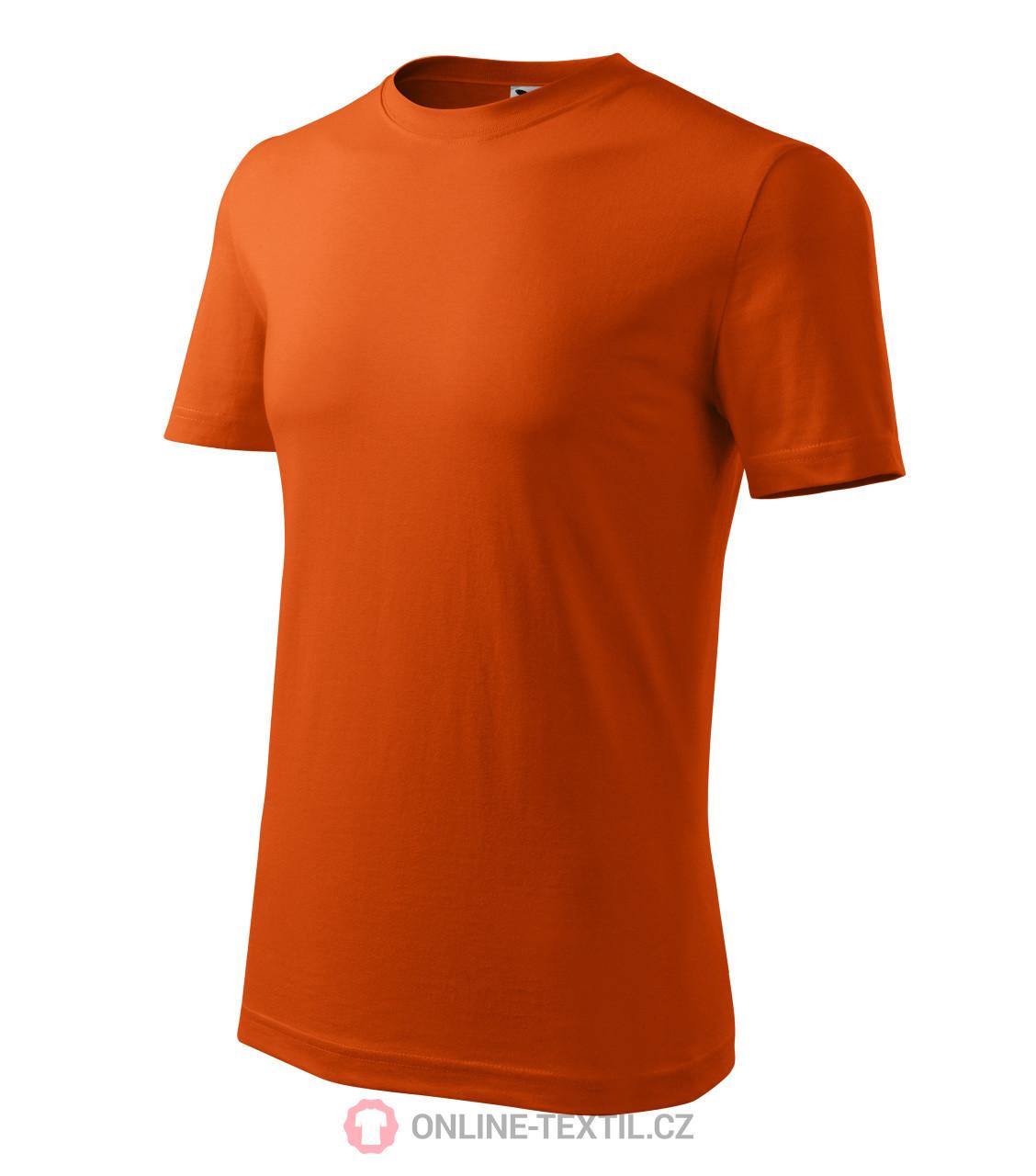 d8e7a4fa1 ADLER CZECH Tričko pánske Classic New nižšej gramáže 132 - oranžová ...