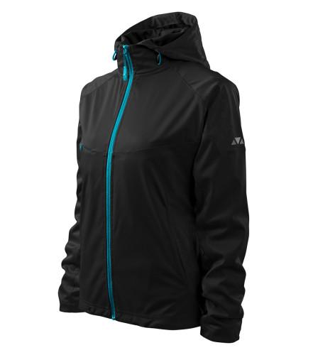 Ľahká dámska softshellová bunda Cool s reflexnými prvky