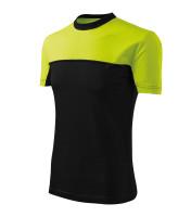 Dvojfarebné tričko Colormix vyššej gramáže