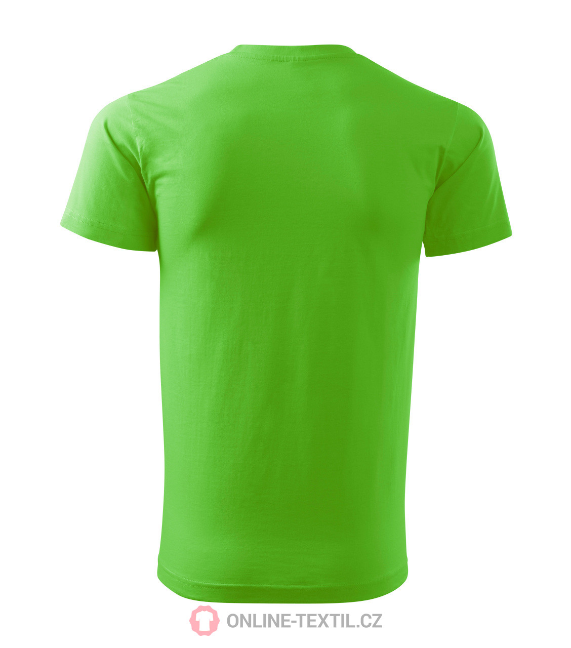 cec66c27c ADLER CZECH Basic tričko pánske 12A - green apple z kolekcie MALFINI ...