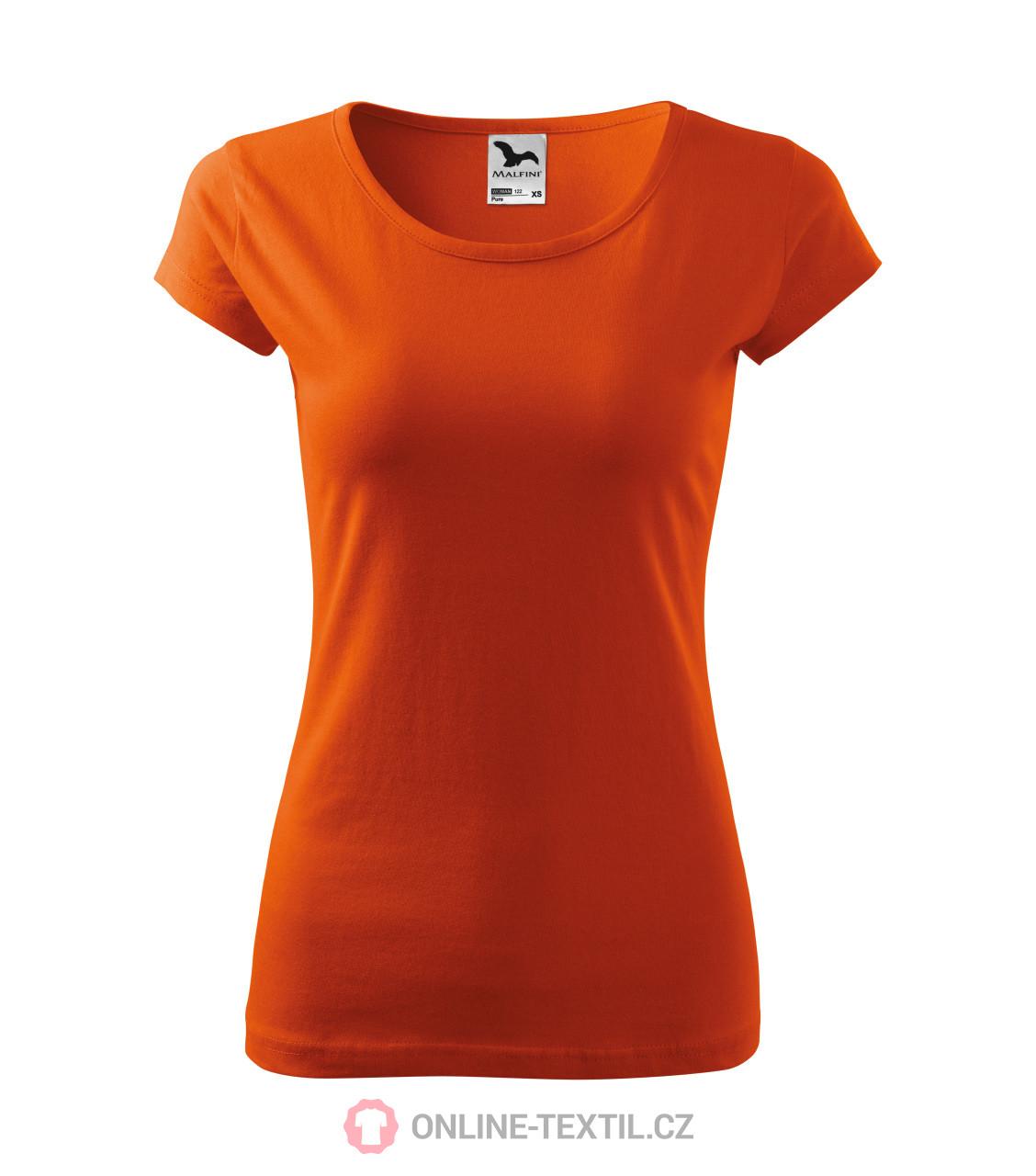 ADLER CZECH Tričká dámske Pure 122 - oranžová z kolekcie MALFINI ... 187dc028a26